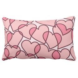 Poduszka w serca,serduszka 40x60 cm wlasny napis